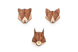 Squirrel & Fox & Bear Set