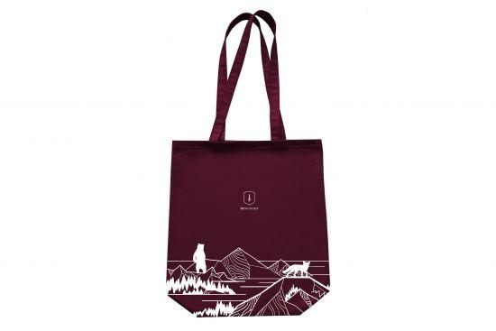 Bordo Fogrocks Fabric Handbag