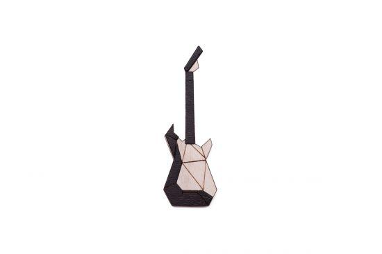 Electric Guitar Brooch