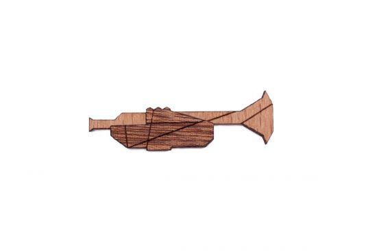 Trumpet Brooch