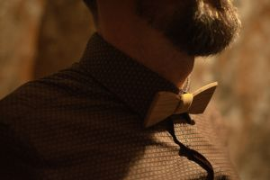 White Wine Bow Tie