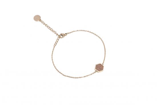 Aurum Hexagon Bracelet