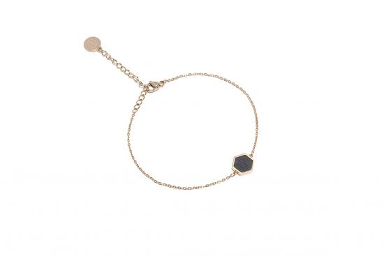 Lux Hexagon Bracelet