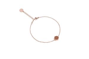 Rea Hexagon Bracelet