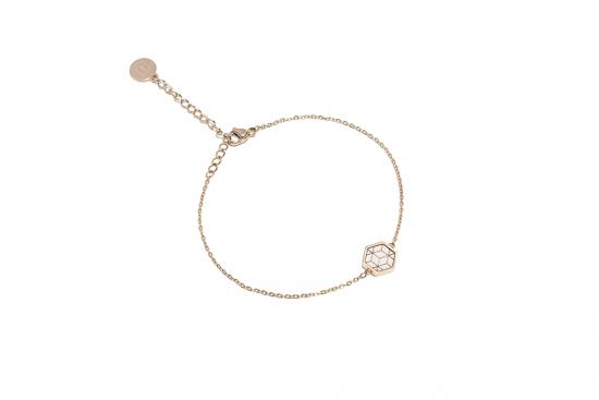 Virie Hexagon Bracelet
