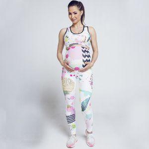 Slaviwear Legíny Pregnancy Abstract