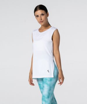 Carpatree Slit Shortsleeve T- shirt White