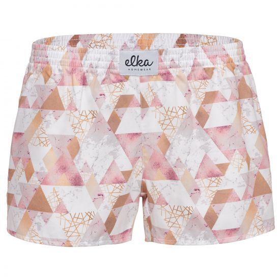 ELKA Trenýrky Triangly růžové