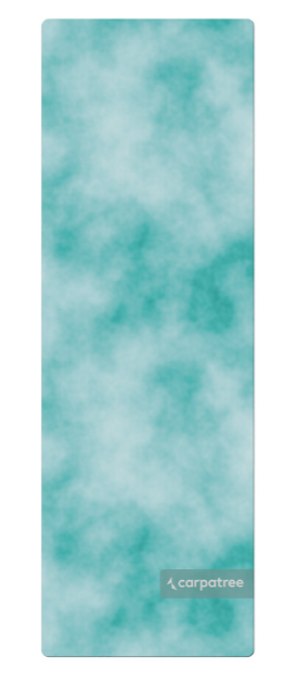 Carpatree Yoga Mat Azure
